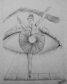 Ceva de genul art em 2019 art sketches, ballet drawings e da Cool Eye Drawings, Pencil Art Drawings, Art Drawings Sketches, Beautiful Drawings, Ballet Drawings, Dancing Drawings, Ballerina Drawing, Ballet Shoes Drawing, Dancer Drawing