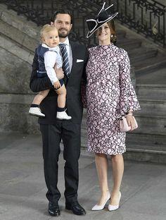 Prince Carl Philip and Princess Sofia with their son, Prince Alexander, attend Princess Victoria's 40th birthday Celebrations