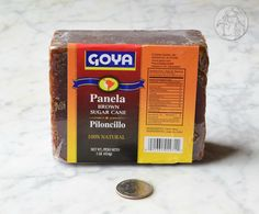 'GOYA' imported from Colombia by Goya Foods, Secaucus, NJ which is America's largest Hispanic-owned food company and the premier source for authentic Latin cuisine. Explore sugars, syrups and tabletop sweeteners at the WhatSugar blog. www.whatsugar.com #CaneSugarBrand