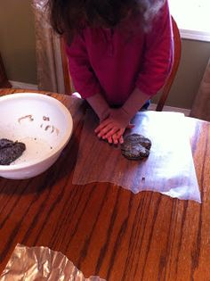 How to make fossils from coffee grounds!