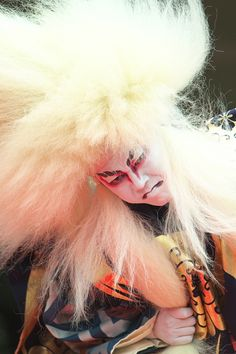 Kabuki. I had a Kabuki doll as a child. Scared the living day lights out of me every night.