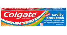 Kids Toothpaste, Colgate Toothpaste, Cavities In Kids, Home Tester Club, Bubble Fruit, Free Samples, Sugar Free, Bubbles, How To Apply