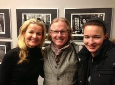 Look who we met at the Leica gallery... photojournalist Peter Turnley!