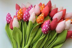 Tulipany które nigdy nie więdną shabby chic from Bawełniany Raj by DaWanda.com