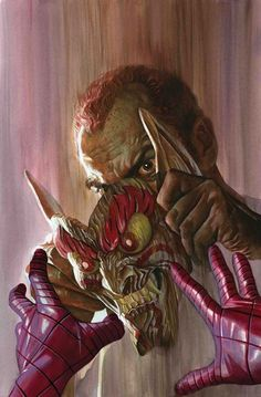 Guest artist Greg Smallwood (MOON KNIGHT) joins Dan Slott for this special issue that sets off the AMAZING SPIDER-MAN event of Norman Osborn's goblin-free battle with Spidey didn't go the way he had hoped. Marvel Comics Art, Marvel Villains, Marvel Heroes, Thor Marvel, Captain Marvel, Alex Ross, Moon Knight, Amazing Spiderman, Geeks