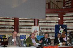 Il tavolo conferenziale con Filipponi, Mattioli, Romagnoli e Onorevole Ferri