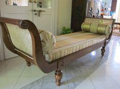 Furniture. Modern Backless Loveseat: Cream Aston Microfiber Rolled ...