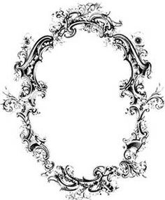 rectangle victorian frames - Bing images