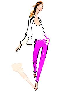 ann taylor illustrated