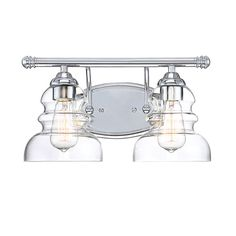 Millennium Lighting Chrome Two Light Vanity On SALE