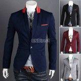 Men's TOP Design Sexy Slim FIT Blazers Coats Suit Jackets, http://www.shopcost.co.uk/
