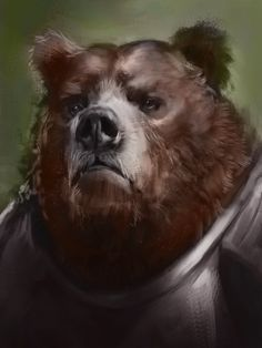 knight bear by Justin Holton on ArtStation. Character Concept, Character Art, Character Design, Pathfinder Races, Bear Drawing, Dungeons And Dragons Homebrew, Bear Pictures, Love Bear, Bear Art