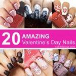 20 Stunning Valentine's Day Nail Designs