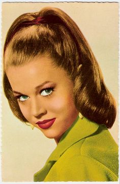 Easy 50s Hairstyles, Vintage Hairstyles For Long Hair, Classy Hairstyles, Ponytail Hairstyles, 50s Hairdos, Halloween Hairstyles, Fashion Hairstyles, Hair Ponytail, Easy Hairstyle