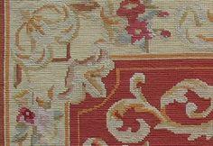 needlepoint rug surface