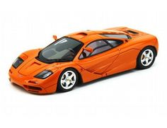 The TrueScale Minitatures 1/43 McLaren 1995 F1 'High Mirrors' In Papaya Orange is part of the TrueScale Miniatures 1/43 scale diecast model car range and displays some fantastic and intricate details.