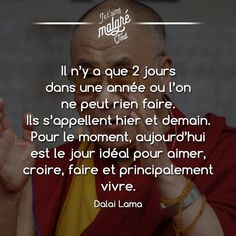 quotation - #citation Positive Attitude, Positive Thoughts, Mantra, Words Quotes, Life Quotes, Life Guide, French Quotes, Inspirational Quotes, Motivational Quotes
