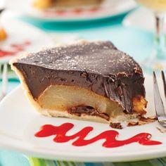 Tarte choco-poires - Desserts - Recettes 5-15 - Recettes express 5/15 - Pratico Pratique