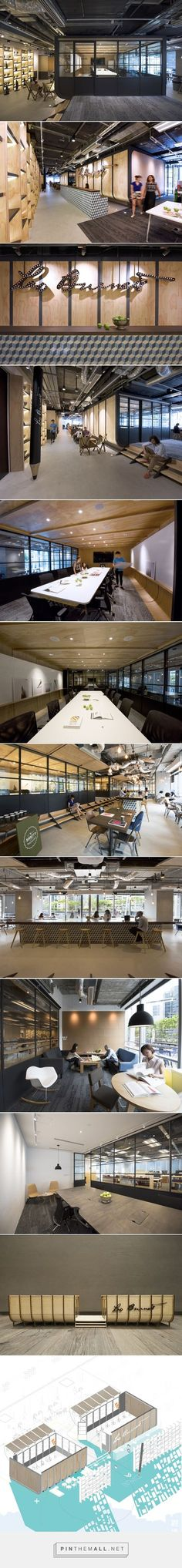 bean buro references ship construction in leo burnett's dynamic hong kong office - created via http://pinthemall.net