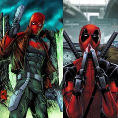 Red Hood vs Deadpool