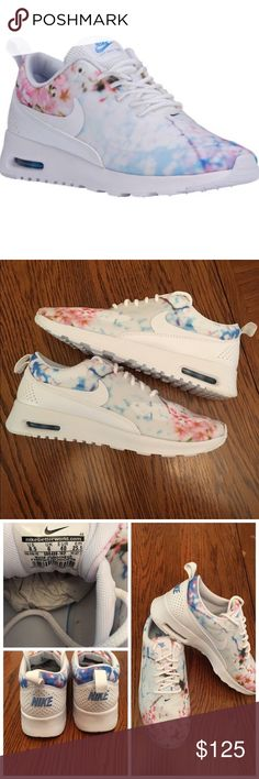 Nike Air Max Thea Cherry Blossom BRAND NEW 💯 Authentic- ORIGINAL BOX..LIMITED EDITION....Out of Stock in this size. 🚫No Trades 🚫 No Holds 🚫 No off Poshmark Transactions Nike Shoes Sneakers