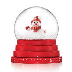 Snowman Globe Kitchen Timer - Shop Avon Christmas decorations at https://mbertsch.avonrepresentative.com #christmasdecor #avonchristmas #avonrep