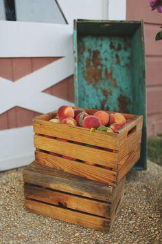 Alabama Peach Wedding by W+E Photographie - Southern Weddings Magazine