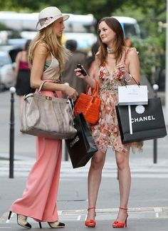shopping in paris. me and @Caitlyn Baltas this summer