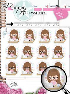 Sticker - Emely Sticker Stress Sticker NR1110 - ein Designerstück von…