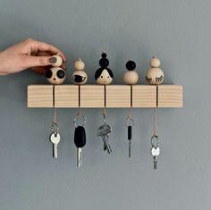 Un porte clé en bois DIY