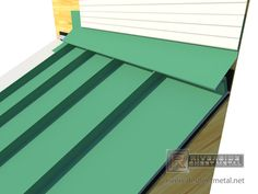 Standing Seam Z Bar Ridge Vent In 2019 Metal Roof Roof Architecture Roof Trusses