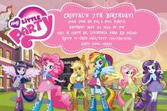 Equestria Girls Invitation