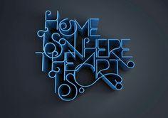 Type - Deadface   Portfolio website of graphic designer Ant Baena... (that's me!)
