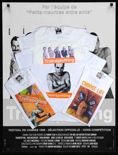 #movie #costum #tshirt #unisex #film #cinema #classic #musthave #favorite #white #printed #pattern #vintageshop #szputnyik #szputnyikshop #budapest #trainspotting #ewanmcgregor #renton #chooselife Ewan Mcgregor, Channel, Diane, Choose Life, Thought Provoking, Budapest, Vintage Shops, Cinema, Unisex