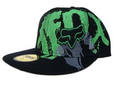 1a4becb74e3 Fox Racing Hats 2007 black and green