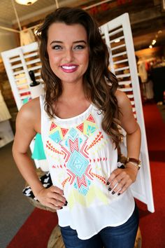 Absolutely Aztec {Tank}