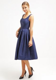 Chi Chi London MILLY - Cocktailkleid / festliches Kleid - navy - Zalando.de