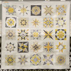 from the blue chair: Stars Quilt--Finished!