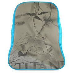 ArtsAdd Lovers Sketch PU Leather Custom Backpack School Bag * Click image to review more details.