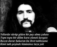 Famous Quotes and Famous Quote Barış Manço. Famous Quotes, Famous People, Quotations, Wisdom, Istanbul, Life, Famous Qoutes, Quotes, Quote