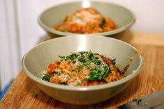Tomato and Sausage Risotto by smittenkitchen #Risotto #Tomato_and_Sausage_Risotto #smittenkitchen