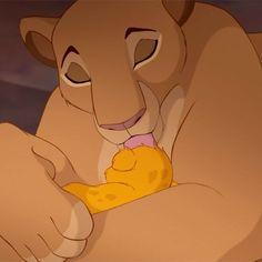 Lion King- Sarabi and Baby Simba Kiara Lion King, The Lion King 1994, Lion King Movie, Lion King Simba, Disney Lion King, Arte Disney, Disney Magic, Disney Art, Baby Simba