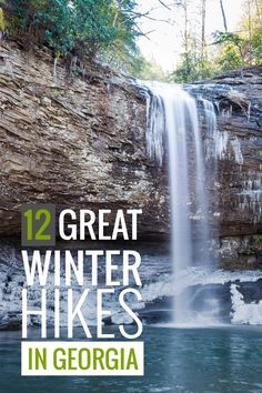 Winter Hiking in Georgia: Our Favorite Trails.  See even more by clicking the photo