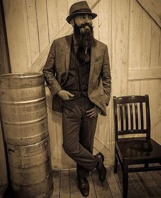 apothecary87:  As you know we love everything vintage, especially this vintage style photo of this MAN @the.villainous.mr.stark #TheManclub  www.apothecary87.co.uk  #Apothecary87