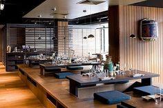 Brisbane's top 10 Japanese restaurants Japanese Restaurant Interior, Japanese Interior, Eco Furniture, Classic Furniture, Cafe Design, House Design, Brisbane, Interior Architecture, Interior Design