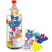 Pop Bottle Science and over 7,500 other quality toys at Fat Brain Toys. Make a volcano, quick-sand, a barometer, a thermometer, a trombone, a compass, a walkie-talkie, a tornado, a lava lamp!