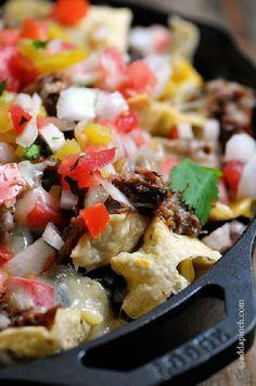 #Shredded Beef #Nachos 15 Nacho Recipes | All Yummy #Recipes