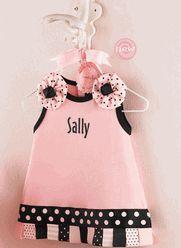 Personalized Perfect Pink Princess Tab Dress $34.95