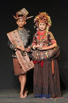 Poso Traditional costume  From Central Sulawesi, Indonesia
