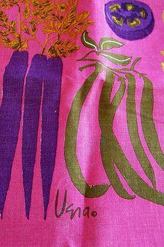 1971 Vera - Vegetables Tea Towel Calendar by polishedtwo, via Flickr